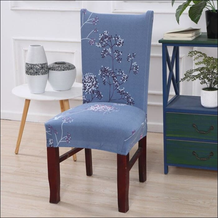 string printed chair cover seat for dining room slipcovers spandex stretch wedding office hotel chair covers - color 20 / 1 piece - 40510