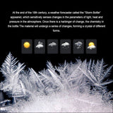 Transparent Storm Glass Weather Forecast Predictor