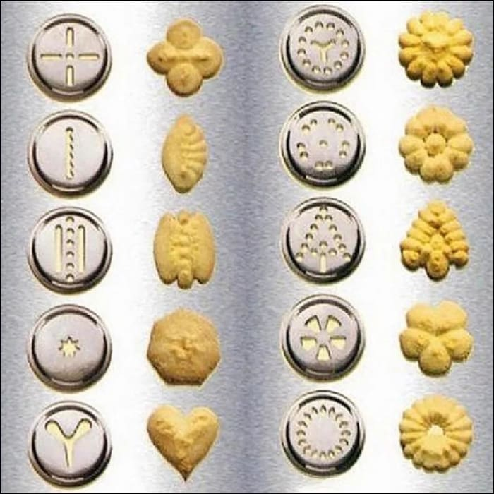 Ultra Value Cookie Press Cookie Maker- 20 Designs