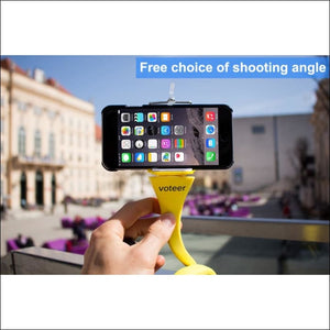 Ultra Value Flexible Selfie Stick With Tripod Monkey Holder