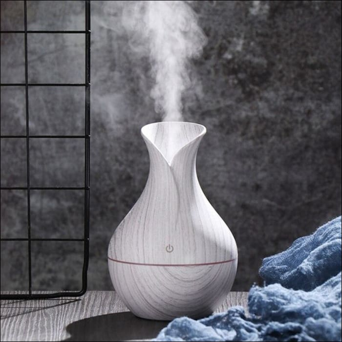 USB Air Humidifier Aromatherapy 130ml Oil Diffuser - 625
