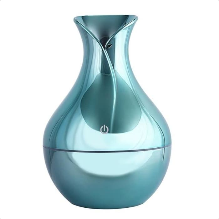 USB Air Humidifier Aromatherapy 130ml Oil Diffuser - blue / China - 625