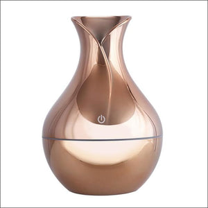 USB Air Humidifier Aromatherapy 130ml Oil Diffuser - grey / China - 625