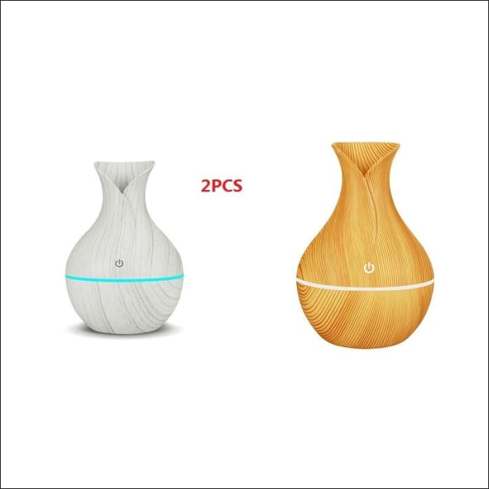 USB Air Humidifier Aromatherapy 130ml Oil Diffuser - k-h121ae / China - 625