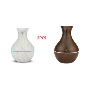 USB Air Humidifier Aromatherapy 130ml Oil Diffuser - k-h121be / China - 625
