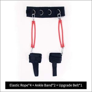 Workout Resistance Bands - 120 LBS WITH BELT 1 / China - Gym Equipment