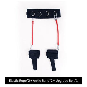 Workout Resistance Bands - 60 LBS WITH BELT 1 / China - Gym Equipment