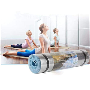 Yoga Mat Workout Exercise Gym - Gym Equipment