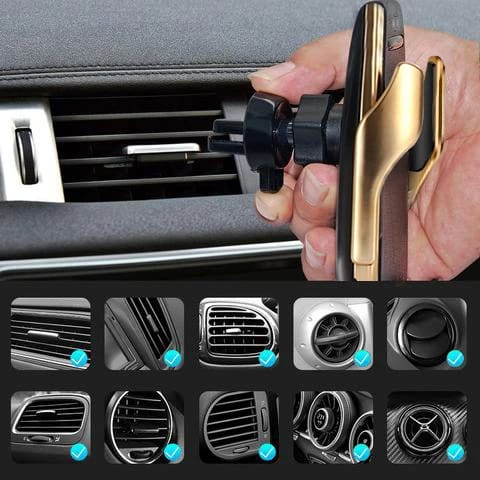 Automatic Car Phone Holder Wireless And Charger