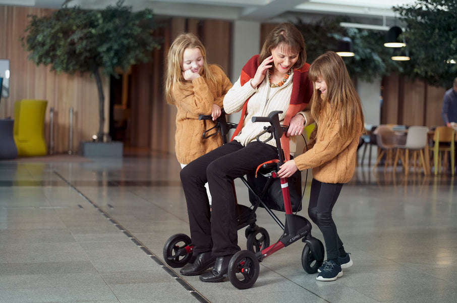 Tip Time - Things to consider when choosing a rollator