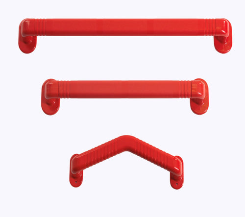 Plastic Red Grab Rail