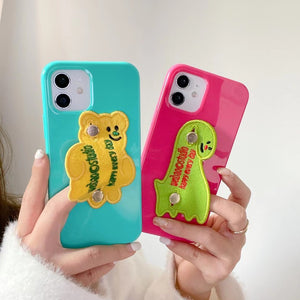Candy Color Fun Button iPhone Case For All Models -New!