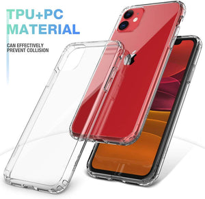 Clear Shockproof Protective Phone Case for All IPhone Models