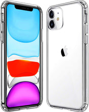 Load image into Gallery viewer, Clear Shockproof Protective Phone Case for All IPhone Models