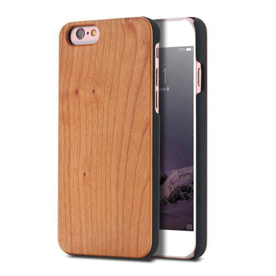 Natural Phone Wood Cell Phone Case Luxury Wooden Cover For IPhones