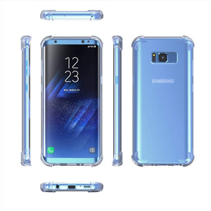 Clear Shockproof Protective Phone Case for All Samsung Galaxy Models