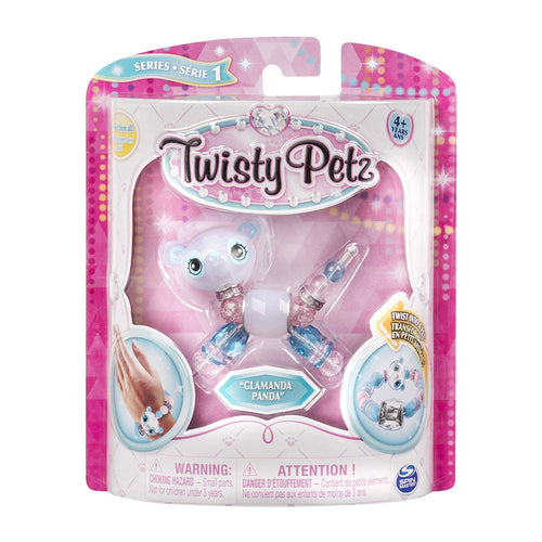 Pastel Pandas Twisty Petz Collectible Bracelet