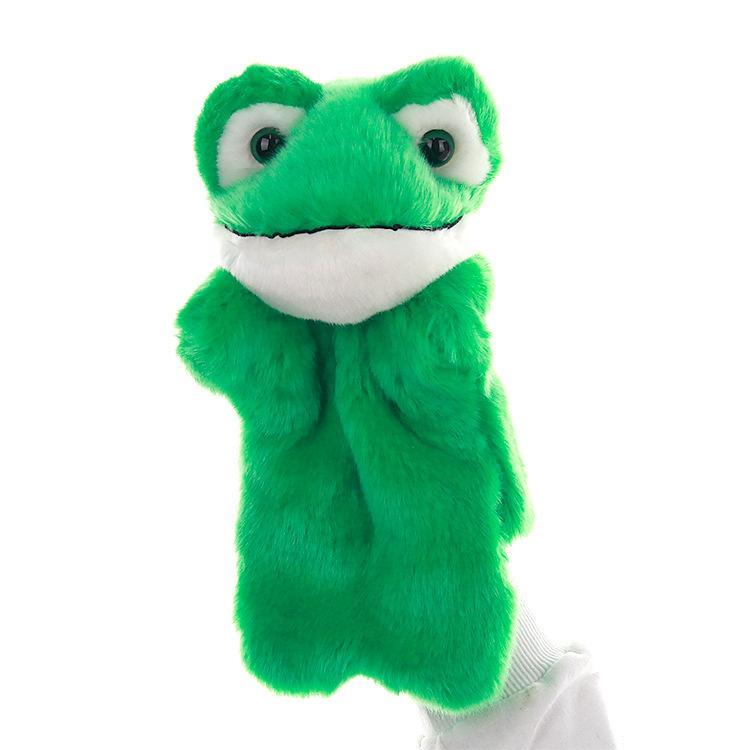 Popular Frog Stage Puppet Playing, Teaching Plush Toys