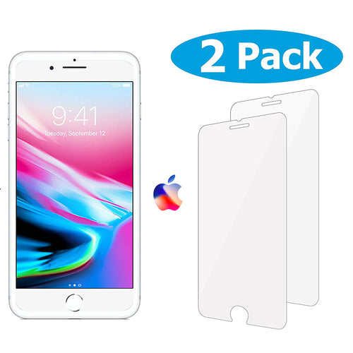 2 Pack Tempered Glass Screen Protector For All Apple IPhone Models