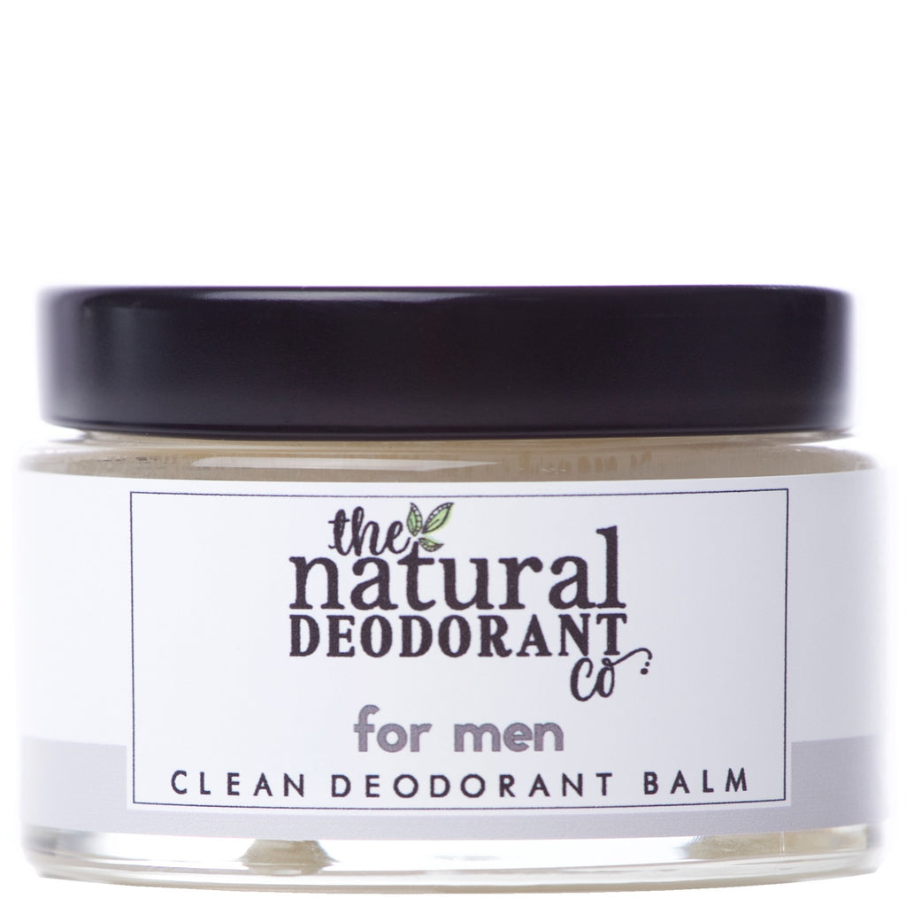 THE NATURAL DEODORANT CO.  Clean Deodorant Balm for Boys & Men 55g