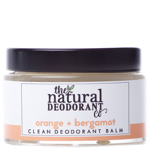 THE NATURAL DEODORANT CO.  Clean Deodorant Balm Orange + Bergamot 55g