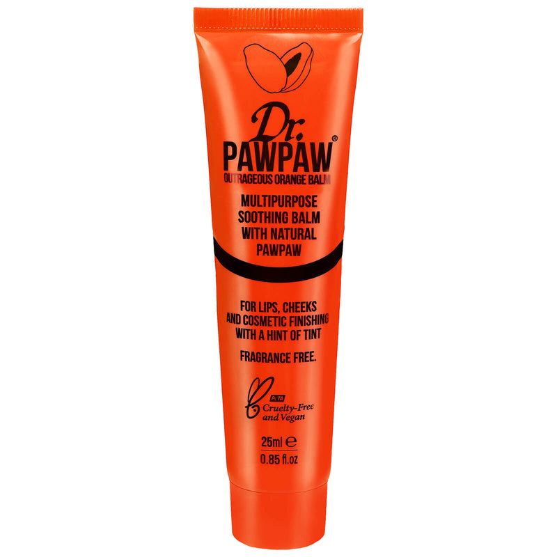 DR. PAWPAW - Tinted Outrageous Orange Multipurpose Balm 25ml