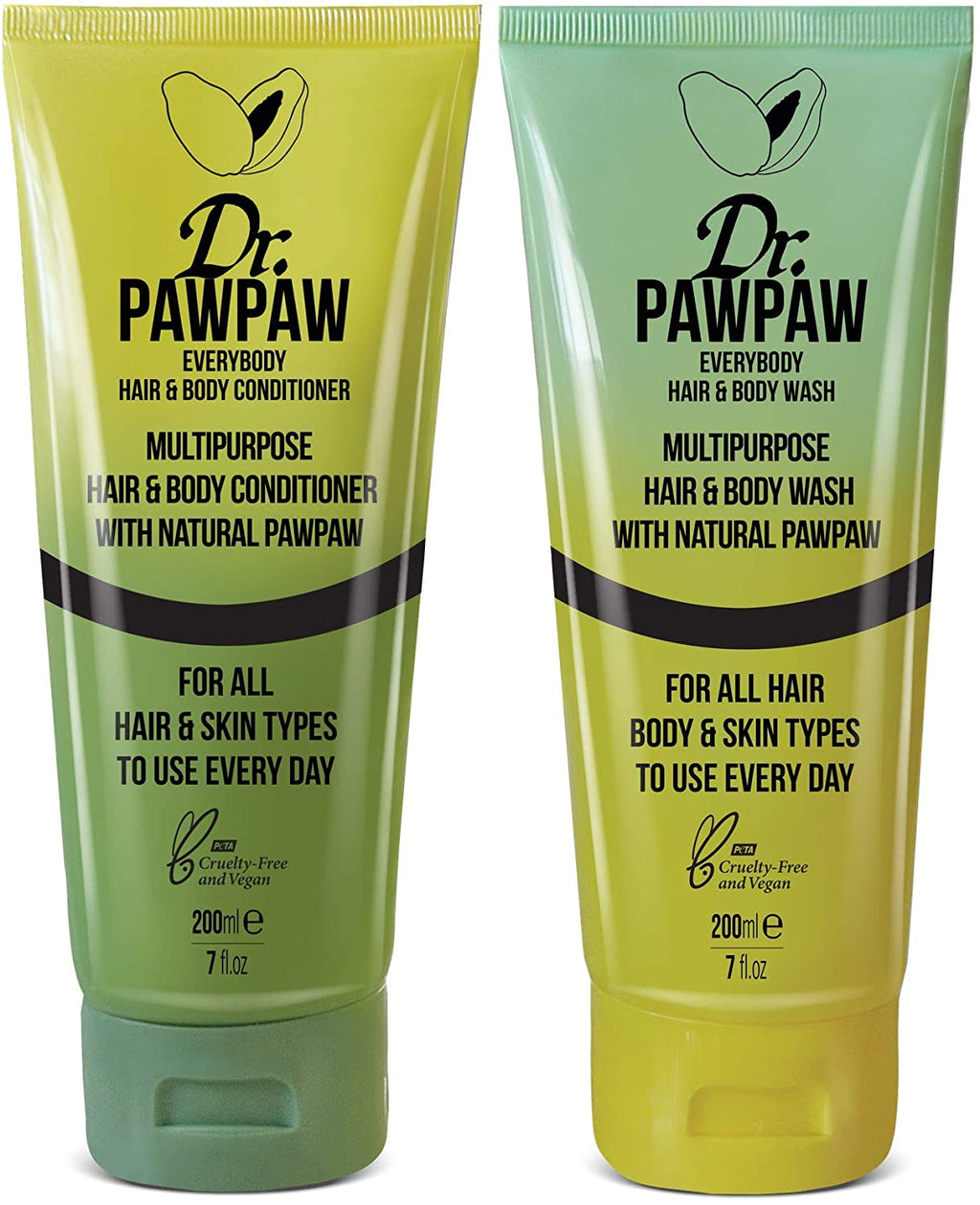 DR. PAWPAW - Multipurpose Hair & Body Wash 200ml