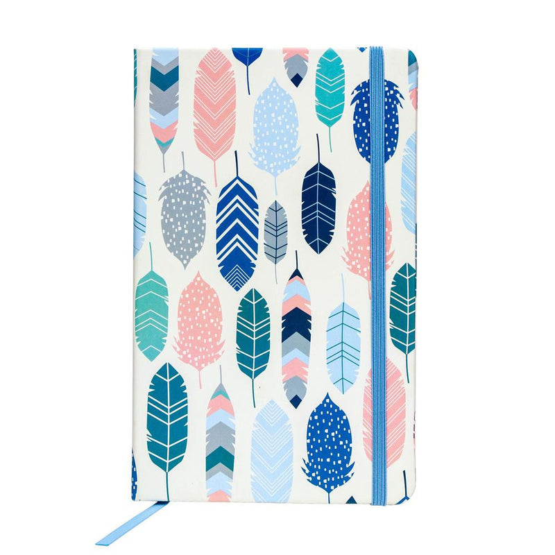 Soft Cover Journal - Feathers