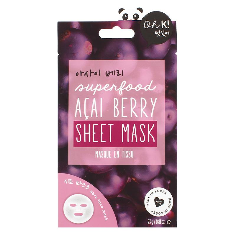 OH K! - Superfood Acai Berry Sheet Mask