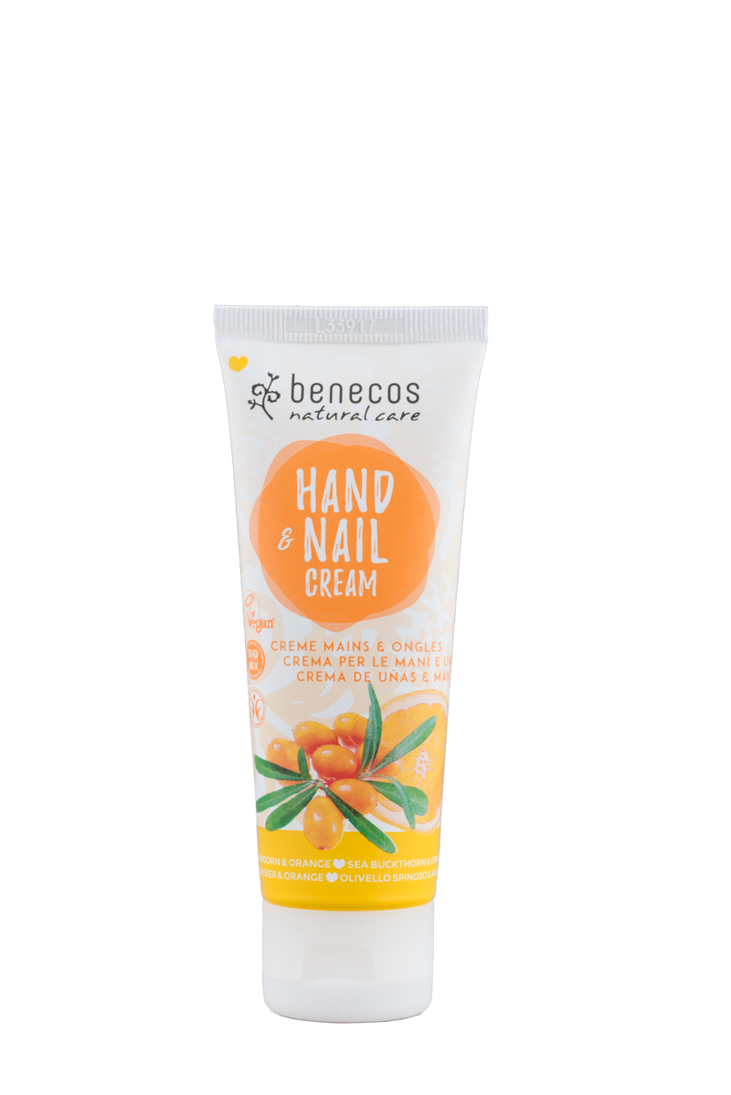 BENECOS - Hand & Nail Cream - Sea Buckthorn and Orange 75ml