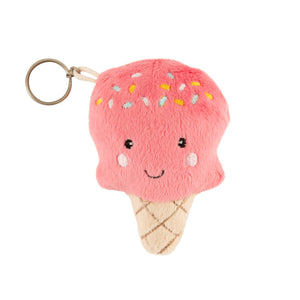 Happy Ice Cream Charm Keyring