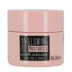OH K! - Chok Chok Glowing Moisturiser 70ml supercharge your glow with this pearlescent face cream formulated with Shea Butter and Rapeseed Oil to soften and smooth.