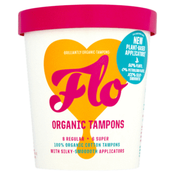 FLO - Organic Eco-Applicator Tampon Pack
