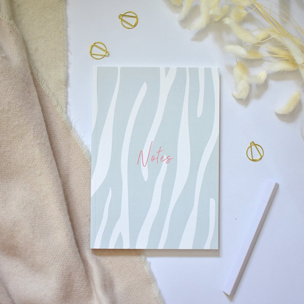 A5 Notebook - Zebra Print