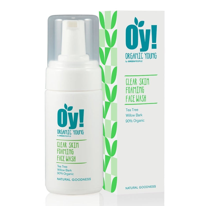 GREEN PEOPLE - Oy! Clear Skin Foaming Face Wash 100ml
