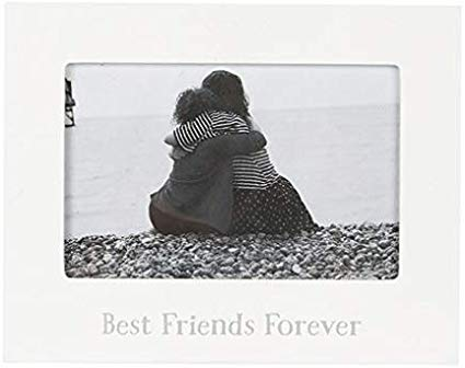 White Photo Frame - Best Friends Forever