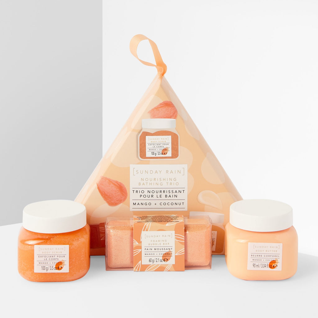 SUNDAY RAIN - Nourishing Bathing Trio Gift Set