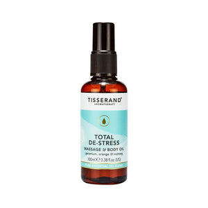 TISSERAND - Total De-Stress Massage & Body Oil 100ml