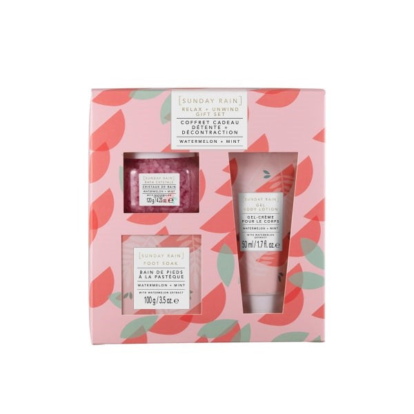 SUNDAY RAIN - Watermelon & Mint Gift Set