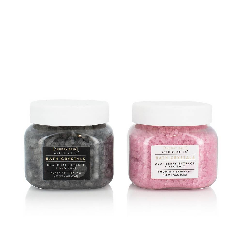 SUNDAY RAIN - Bath Crystal Duo Gift Set 120g x2