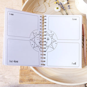 'Happy Mind Happy Life' Positivity Planner