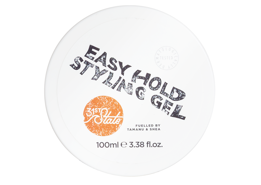 31st State for Boys - Easy Hold Styling Hair Gel 100ml  gives a natural hold, without all the effort.