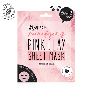 OH K! - Pink Clay Sheet Mask