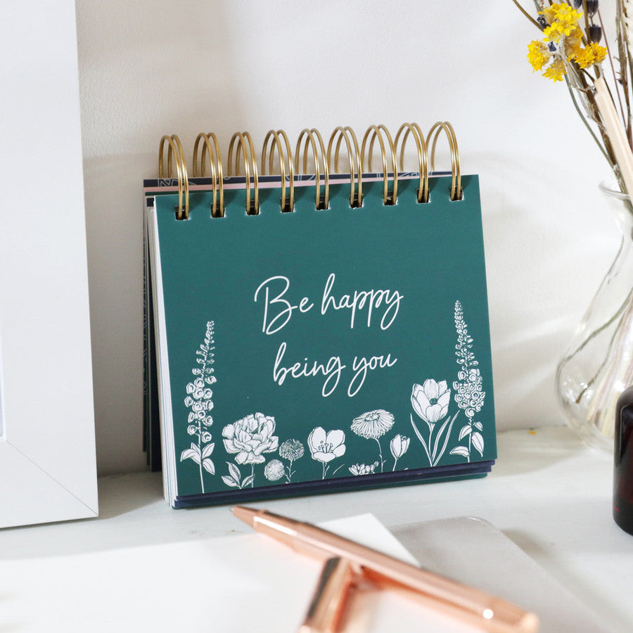 Positive Affirmation Desktop Flip Book