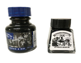 Drawing Ink versus Calligraphy Ink