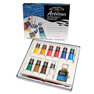 Artisan Water Mixable Oil Colour Studio Set