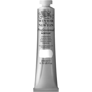W&N Professional Acrylic Colour Paint 200ml Tube
