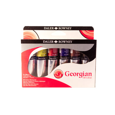 Georgian Oil Colour Mixing Set 6x38ml Tubes