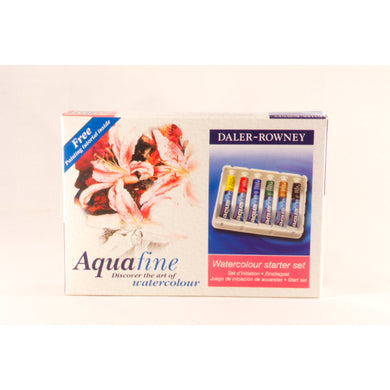 Aquafine Watercolour Starter Set 6x8ml Tubes