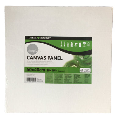 Daler Rowney Simply Canvas Board 40x40cm